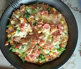 普通面粉版披萨的做法