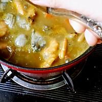 咖喱鲜虾牡蛎锅的做法图解14