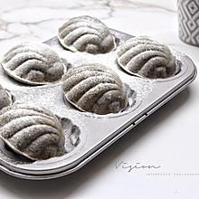 黑米芝麻糯米蛋糕#安佳黑科技易涂抹软黄油#