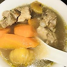 板栗煲龙骨汤