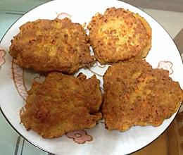 懒人晚餐——胡萝卜鸡蛋肉饼的做法