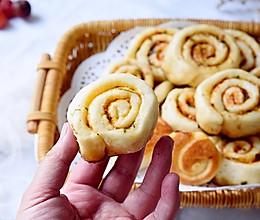 煎花卷#快手又营养,我家的冬日必备菜品#的做法