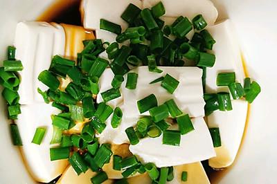 家庭版小葱拌豆腐~夏天必备