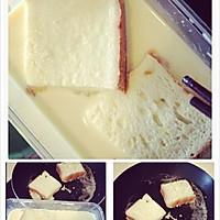 香喷喷的早餐-黄油牛奶面包片的做法图解4