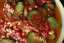 西红柿鸡蛋炒黄瓜的做法