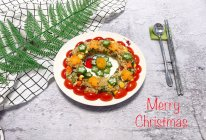 #令人羡慕的圣诞大餐#花环什锦炒饭的做法