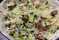 腊肠香菇菜饭的做法