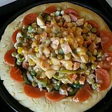 自己家做的超好吃的 披萨