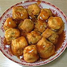 油豆腐包肉