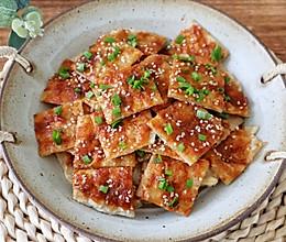 #豆果10周年生日快乐#免揉面自制酱香饼的做法