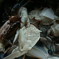 姜葱炒花蟹(梭子蟹)的做法图解2