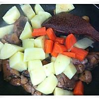 黑椒鸡腿烧土豆的做法图解7