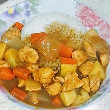 咖喱鸡米饭
