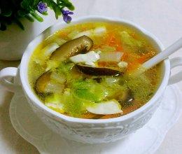 白菜豆腐三丝汤的做法