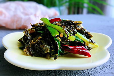 炒酸菜,解油腻