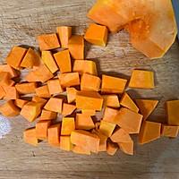 美味无敌的南瓜香菇饭#做道懒人菜,轻松享假期#的做法图解1
