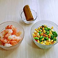 咖喱虾仁便当#硬核家常菜#的做法图解2