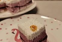 #我为奥运出食力#紫薯桂花松糕的做法