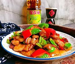 农家小炒肉#金龙鱼营养强化维生素A新派菜油#的做法