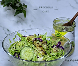 #节后清肠大作战#零0⃣️基础减肥餐之鸡肉蔬菜水果沙拉!的做法
