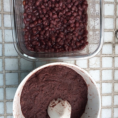蜜红豆+红豆沙(电饭煲版)