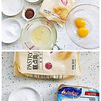 #爱好组-低筋#像饼干的可可蛋糕酥的做法图解1
