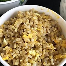 糙米无油蛋炒饭