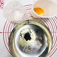#父亲节,给老爸做道菜#黑芝麻溶豆的做法图解1