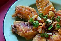 利仁电饼铛试用之蒜香盐煎翅的做法