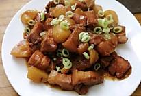 无油版五花肉炖土豆的做法