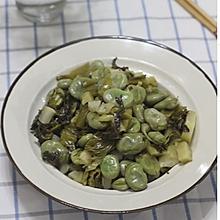 刘家菜炒蚕豆
