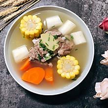 #快手又营养,我家的冬日必备菜品#山药排骨汤