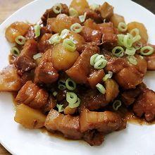 无油版五花肉炖土豆