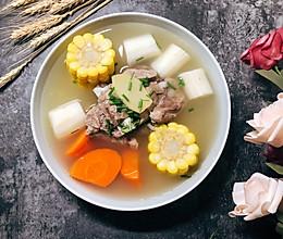 #快手又营养,我家的冬日必备菜品#山药排骨汤的做法
