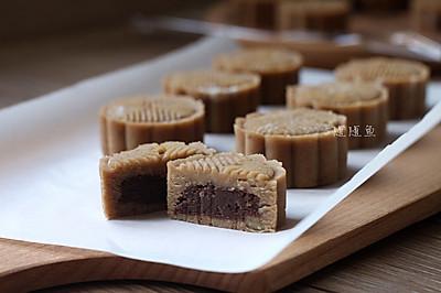 ~栗子红豆糕~丰收季的香甜点心(四)