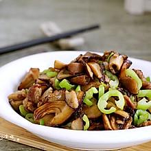 辣炒香菇肉片