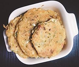豆渣蔬菜鸡蛋饼的做法
