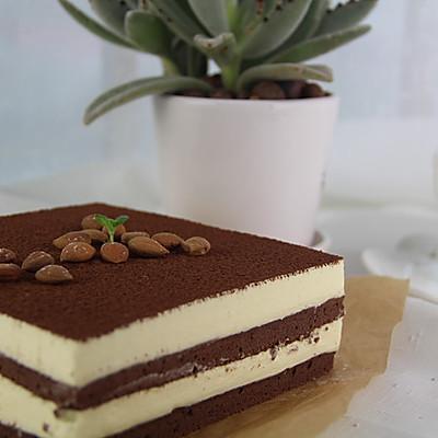 白巧克力慕斯蛋糕