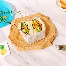 #做道懒人菜,轻松享假期#三明治