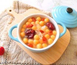 红薯圆子甜汤#换着花样吃早餐#的做法