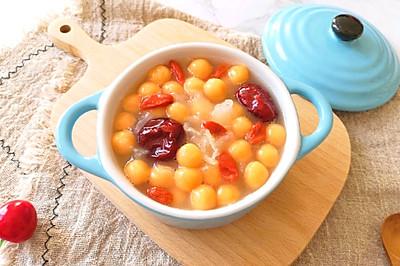 红薯圆子甜汤