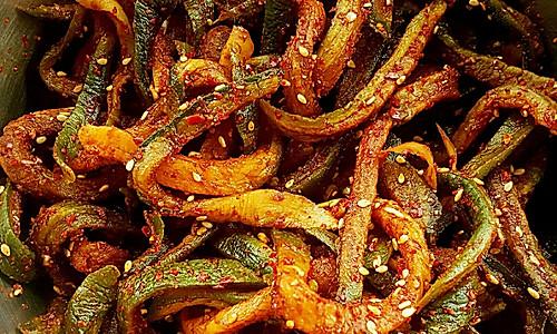 辣拌干萝卜条的做法