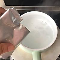#资深营养师#5分钟学会的甜点Q弹抹茶布丁的做法图解3