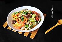 爆炒杂菌小白菜#厨此之外,锦享美味#的做法
