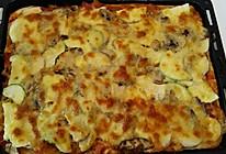 菌菇披萨的做法