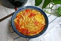 番茄菌菇汤面条#花10分钟,做一道菜!#的做法