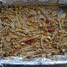 锡纸蒜蓉金针菇(烤箱版)