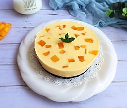 免烤箱芒果蛋糕的做法