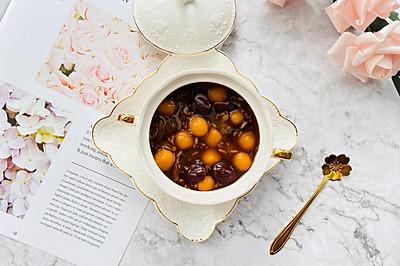 #洗手作羹汤#养颜神器—红枣黑糖酒酿南瓜红薯圆子