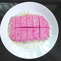 火龙果椰蓉奶糕的做法图解12